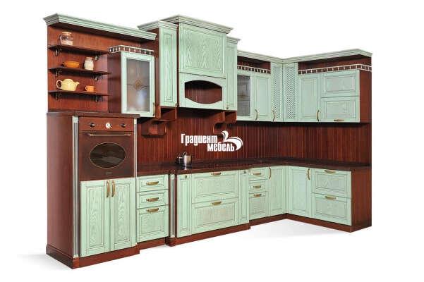 """Кухня из натурального дерева """"Франческа"""""""